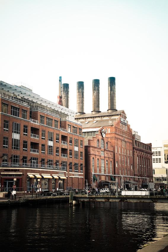 The Baltimore Power Plant